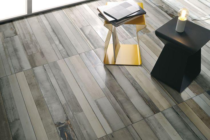 Ceramica Fioranese | #Urban_Wood collection #Pavimenti effetto #legno, #Wood effect #tiles, #Porcelain #Stoneware