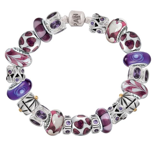 Pandora Purple Passion Bracelet