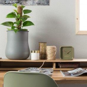 Cute tafelklok Zuiver groen   Musthaves verzendt gratis