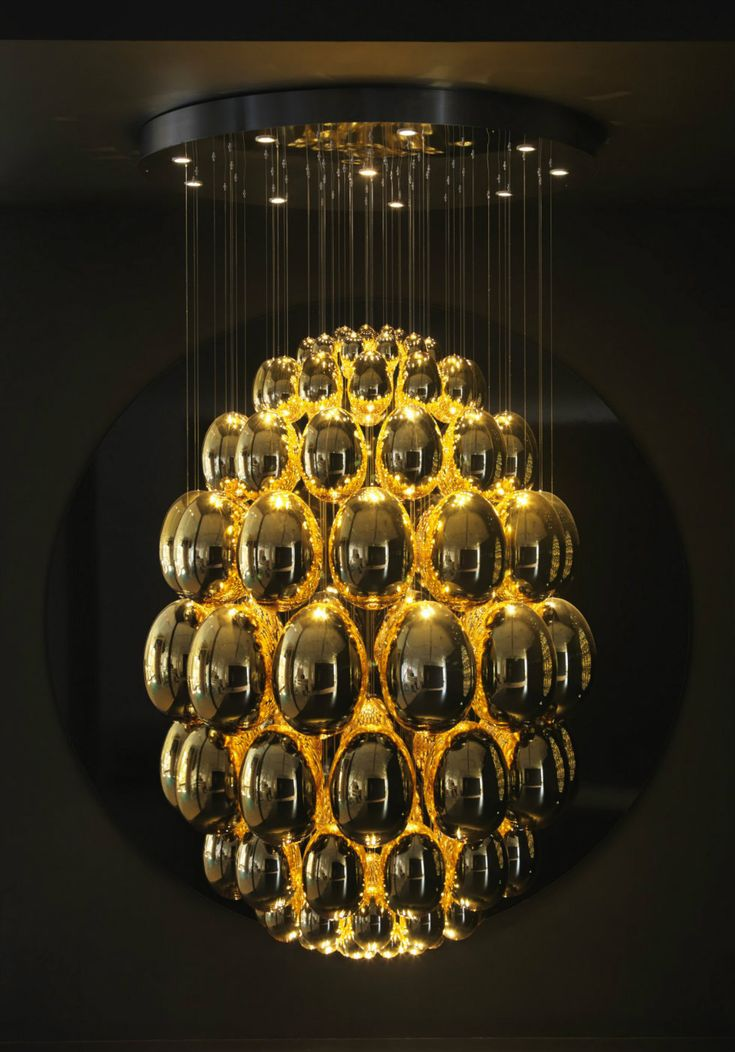 """""""7 Contemporary Chandeliers that will make the difference in your Living Room-UOVO by Rony Plesl LASVIT"""""""