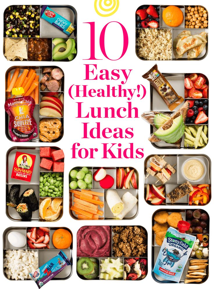 10 ExtraEasy and Healthy Lunch Ideas for Kids Easy