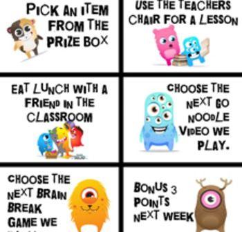 CLASS DOJO REWARD PACK - TeachersPayTeachers.com