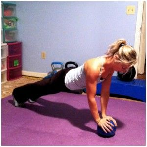 Flab fighter, Flat Stomach quick home workout routine with a medicine ball!