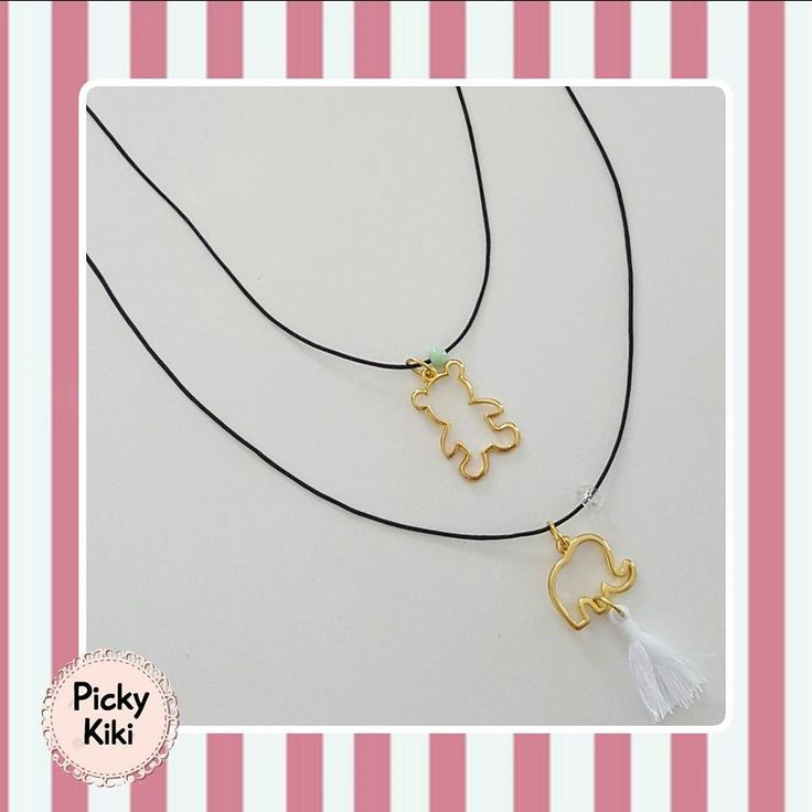 Set of long necklaces | Spring-Summer Collection 2016 | Picky Kiki Handmade Accessories & Street Fashion Blog