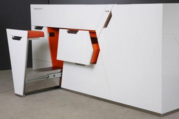 Модульная кухня от Boxetti, компактная кухня, кухни, дизайн кухни, идеи для дома, интерьер, мебель, оригинальный дизайн, загородные коттеджи...