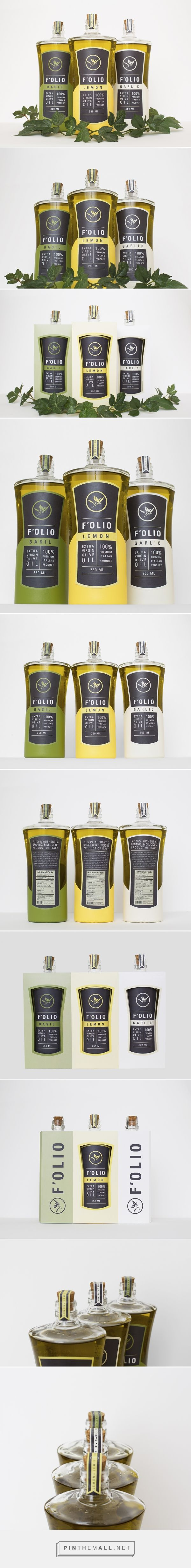 F'OLIO Olive Oil (Student Project) - Packaging of the World - Creative Package…