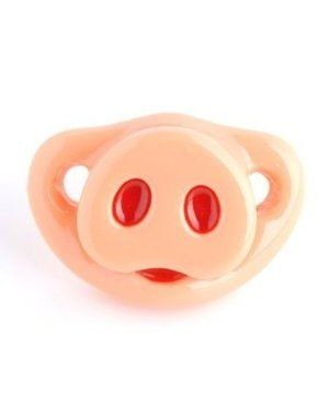 Amazon.com: Billy Bob Lil Piglet Pacifier: Baby