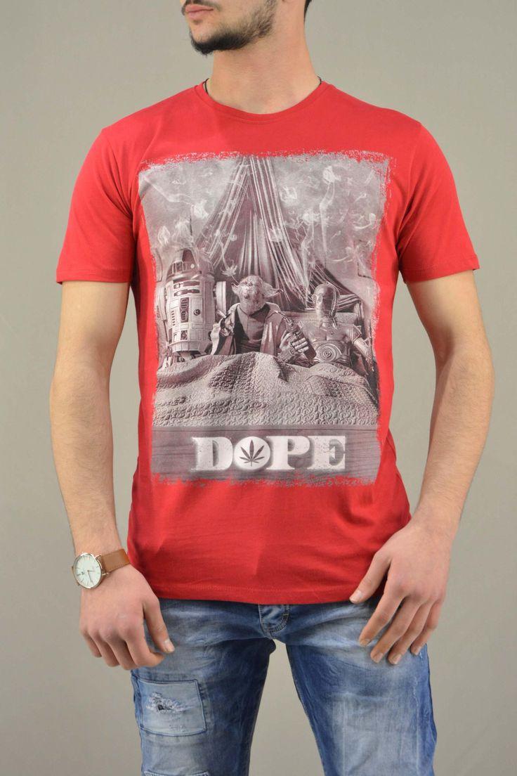 Ανδρικό t-shirt Star Wars Yoda Dope   Άνδρας - T-shirts/Μπλούζες