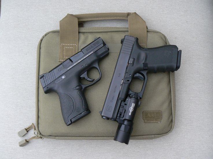 Smith and Wesson M&P Shield 40 and the Glock 19 Gen 4. Two fantastic polymer pistols. Read the review on the Shield here: http://groupcoalition.com/2014/12/03/the-shield/