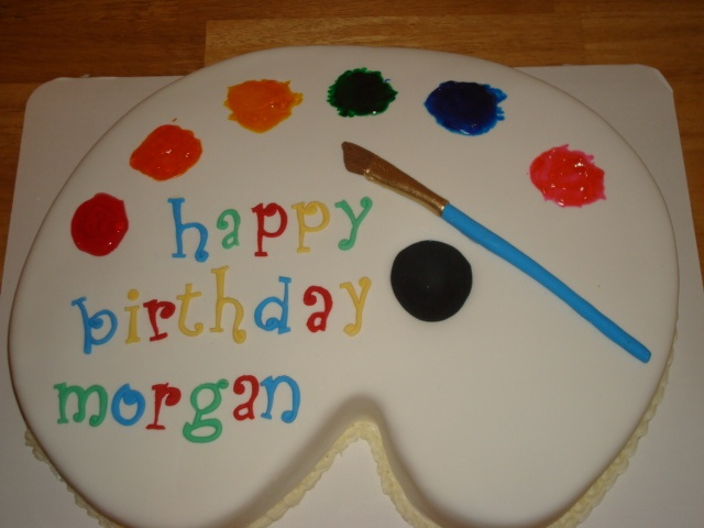 Artist Palette Cake Ideas : 15 best images about Artist cakes on Pinterest Birthday ...
