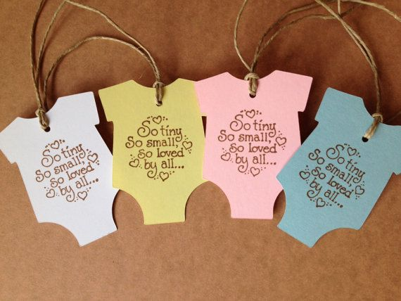 Baby Shower Tags Baby Tags Baby Shower Gift Tag Baby