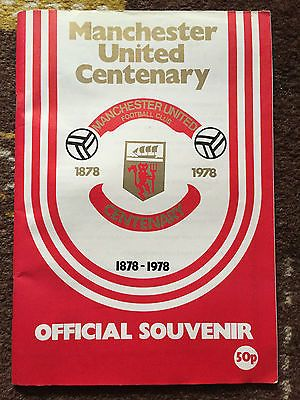 Manchester #united v real #madrid 1978 #centenary souvenir brochure,  View more on the LINK: 	http://www.zeppy.io/product/gb/2/162218481070/