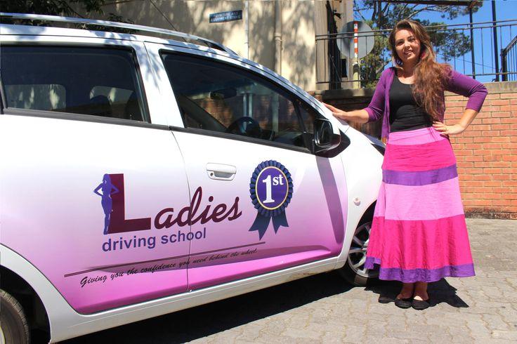 Ladies 1st Driving School, 079 892 5079.