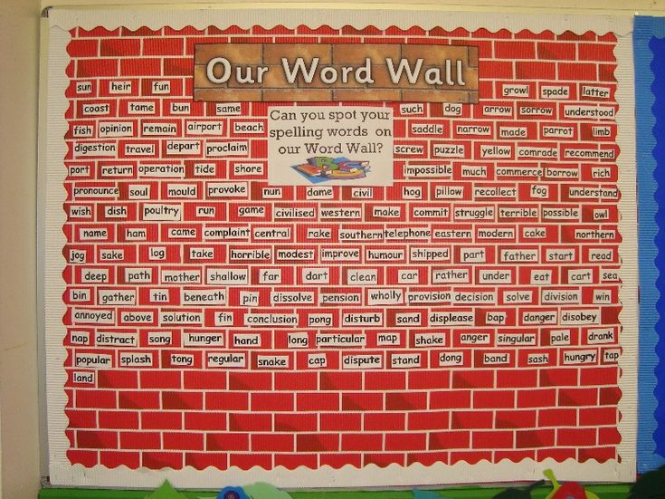 21 best word walls images on pinterest word walls on word wall id=12536