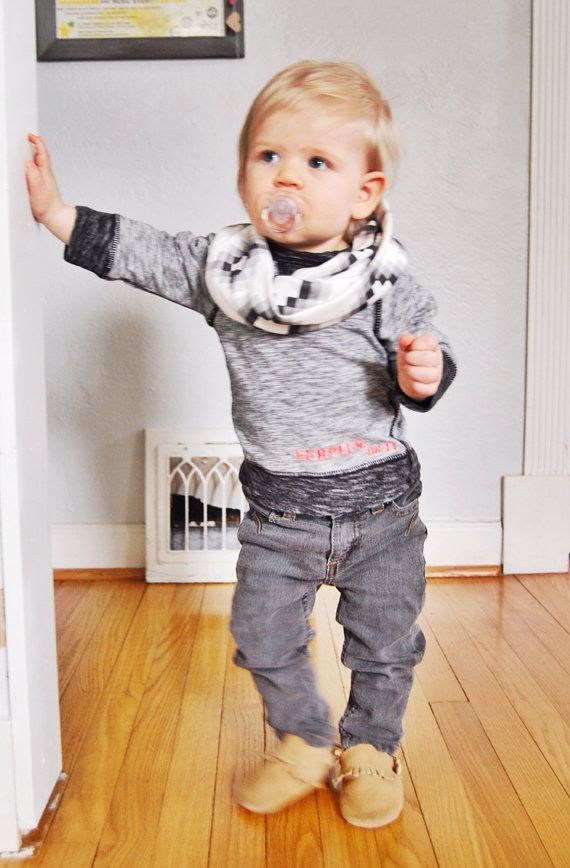 Baby Child Toddler Infinity Scarf // Organic Cotton by cristinrae