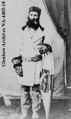Mr. Anderson, Scottish Metis, Red River, Manitoba. [1870s]    Date: [ca. 1870s]