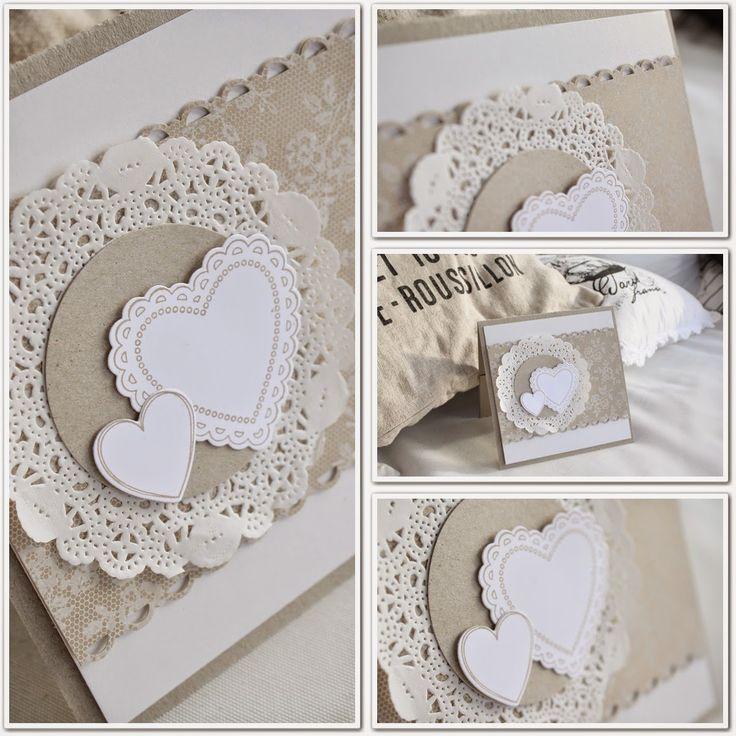 I Love Lace Hochzeitskarte