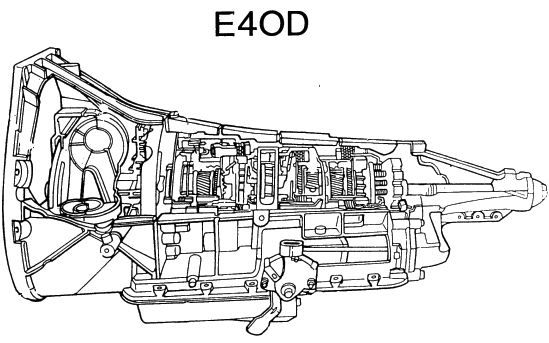 PDF ONLINE - Ford E4OD Tranmission Repair Manual
