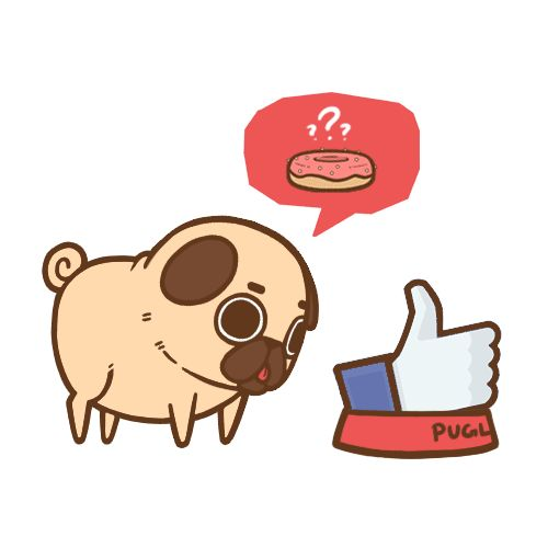 Puglie has a Facebook page now! If you wanted to keep (even more) up to date with Puglie on his adventures, conventions he'll be making an appearance at, contests & giveaways, work in progress projects, or if you just want to show general support, check out the Facebook page at https://www.facebook.com/pugliepug :]