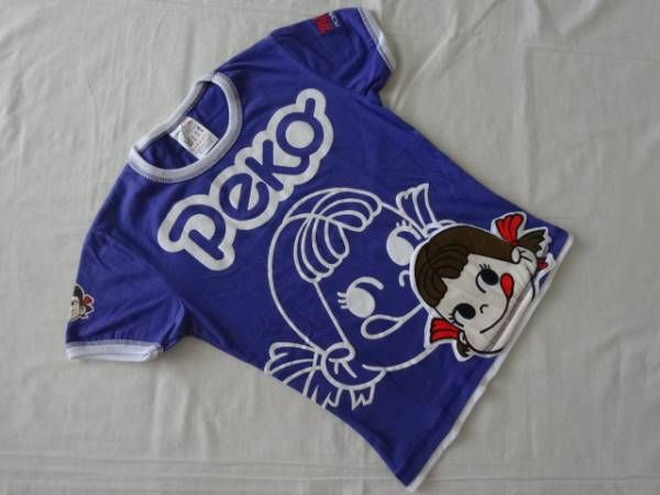 BH47 ペコちゃん PEKO 半袖 Tシャツ レディース S 紫 切手可 - ヤフオク!