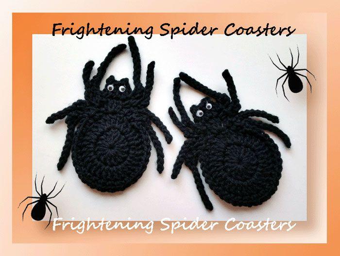 Frightening Spider Coasters