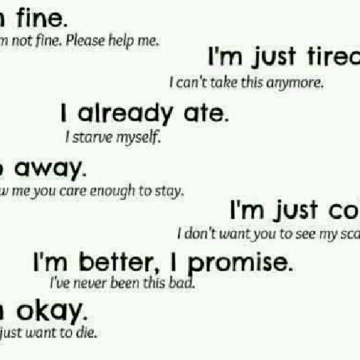 Pro Ana Quotes: Anorexia, I Love This, I've Said Everylast One Of These