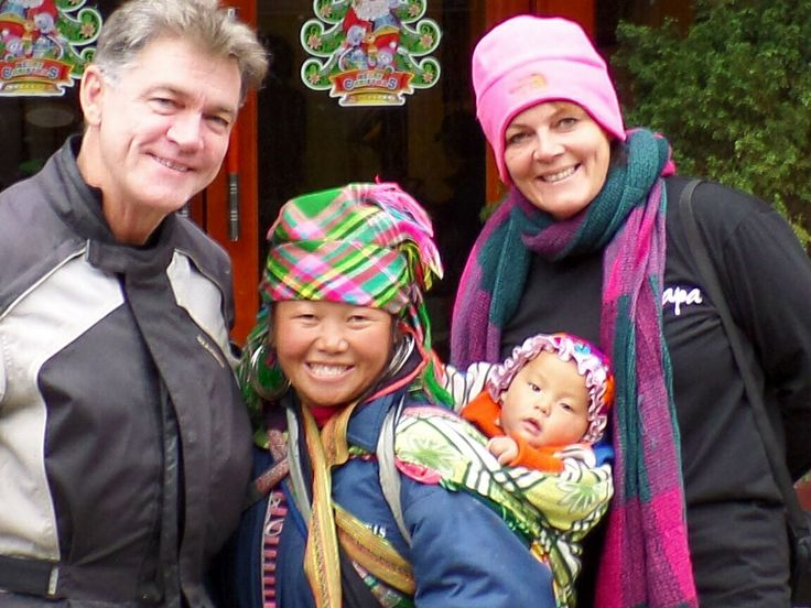 Our lovely Guide Sa from the Hamong Tribe Sapa