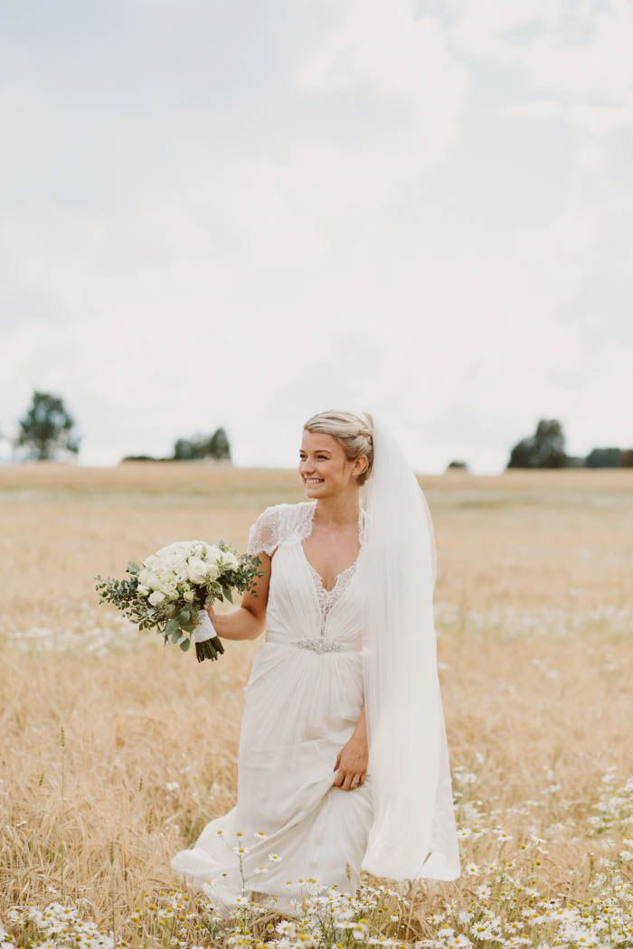 This simple and elegant Norwegian bride is a pure depiction of beauty and grace   Image by Wide in Wonder