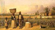 Cotton Pickers I  by William Aiken Walker