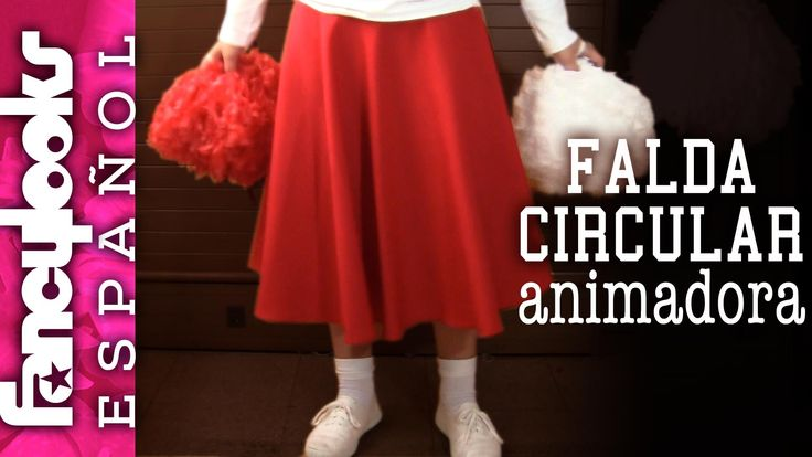 Falda animadora: Disfraz Grease, Sandy Cheerleader