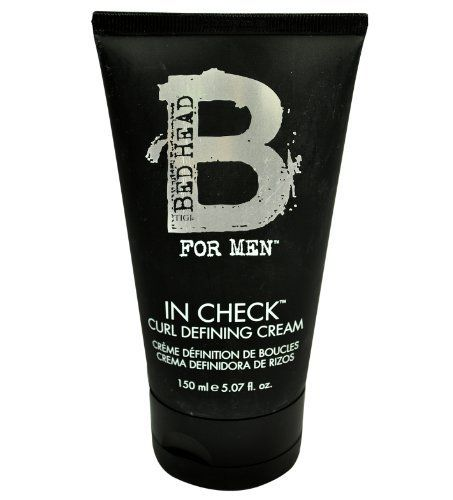 TIGI Bed Head for Men In Check Curl Defining Cream, 5.07 Ounce by TIGI. $10.62. A cream to define and hold curls or waves while fighting frizz. Tigi bedhead b for men in check curl creme is for guys who want to control their unruly hair. A blend of extracts tames, separates and makes curls more manageable. TIGI Bedhead B for Men In Check Curl Creme is for. Save 29%!