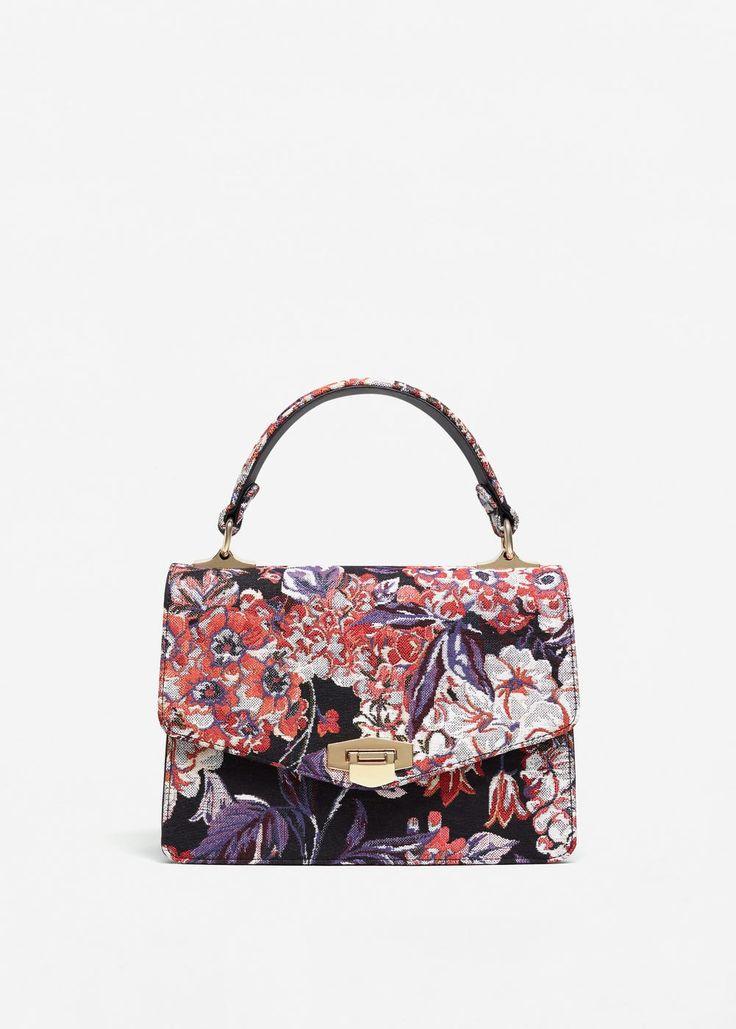 Buckle embroidered bag | MANGO