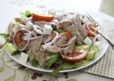 KasvisHovi :: Pulled Pork salaatti