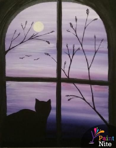 Paint Nite Boston   Barrett\\\\'s Alehouse (Bridgewater) 12/29/2014