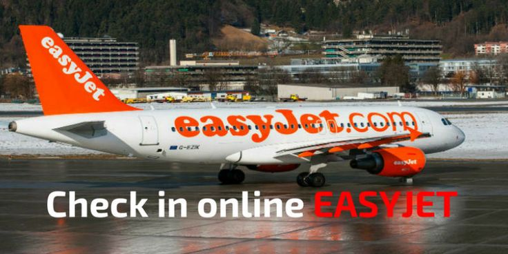 Guía para hacer el check in online Easyjet