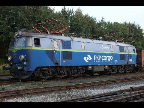 freight locomotive ET22 // GoPro Hero // Raszówka, Poland - YouTube