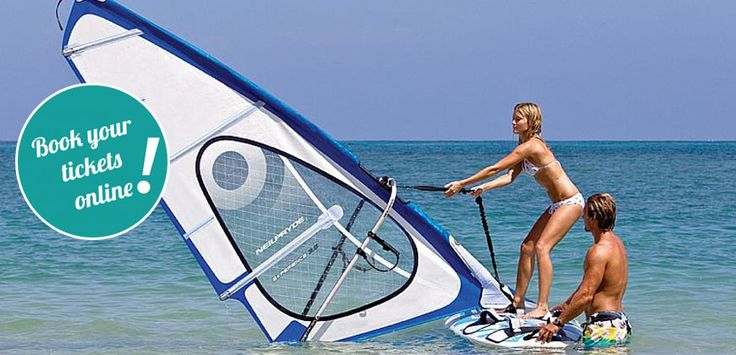 Windsurf Training at Sithonia – Armenistis beach