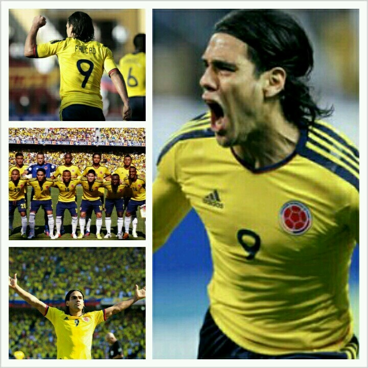 #ColombiaTeam #Fútbol #Soccer #Falcao #Colombia #Tricolor #FCF