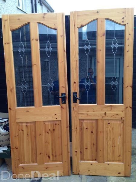 5 solid pine indoor house doors