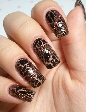 Shatter/Crackle Nails