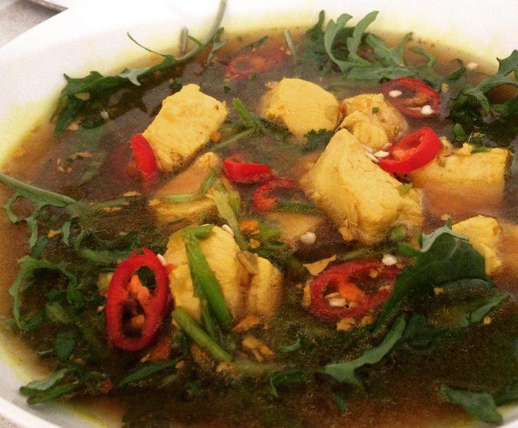 Flu Fighter Chicken Soup