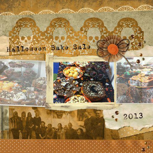 Our Daisytrail Halloween Bake Sale