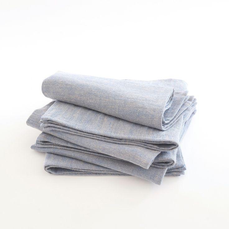 Les 25 meilleures id es de la cat gorie serviettes en lin - Serviette table lin ...