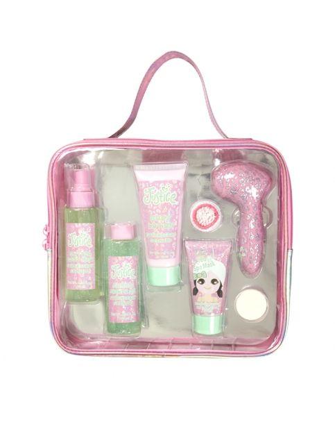 mega spa dazzle gift set girls make up beauty kits beauty shop justice sleepover fun. Black Bedroom Furniture Sets. Home Design Ideas