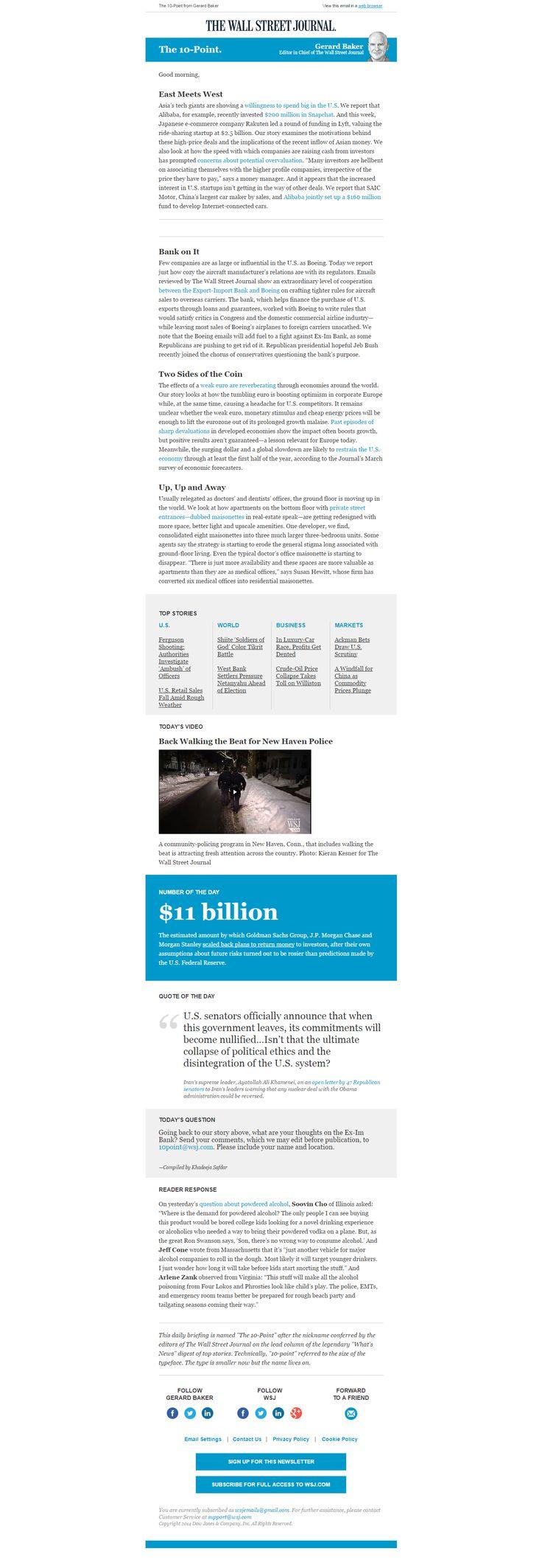 Newsletter The Wall Street Journal