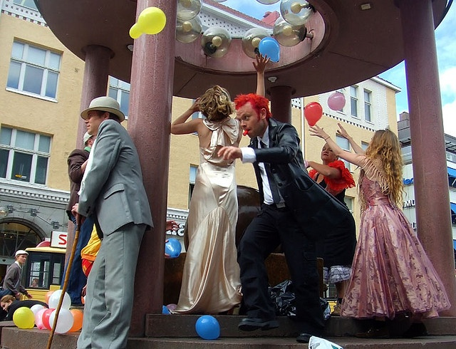 The launch of The Lost City Inc. (Experience Park Oulu 2008)