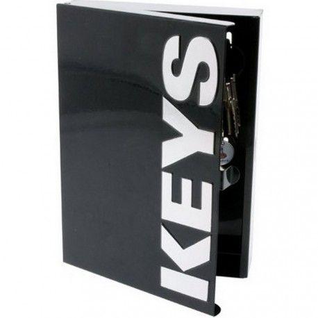 Armoire à Clé Noire Design Key Box
