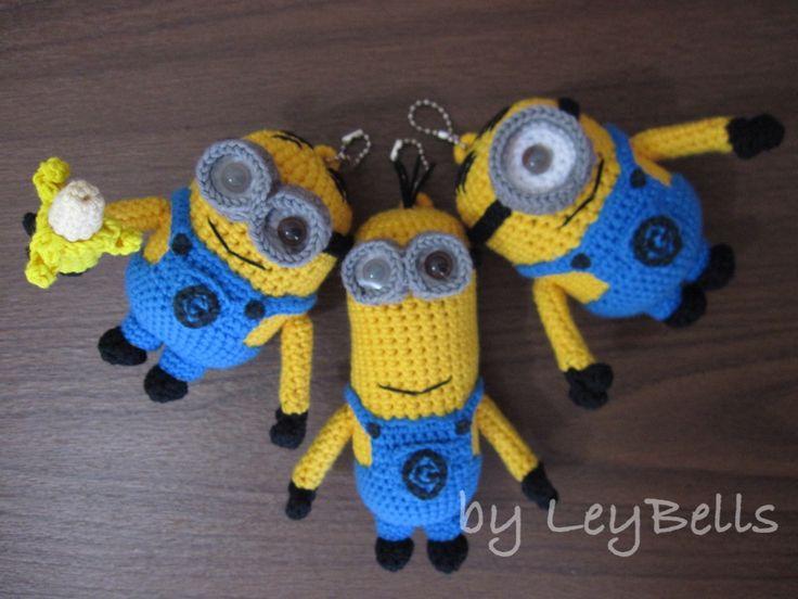 Minions Amigurumi Llavero : Best images about diy minions on pinterest free