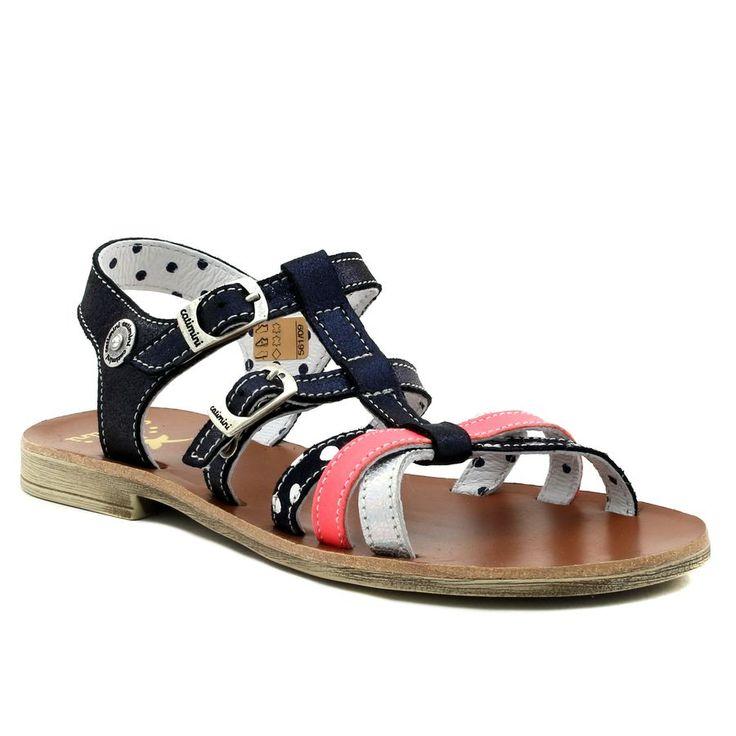 623A CATIMINI CORAIL MARINE www.ouistiti.shoes le spécialiste internet  #chaussures #bébé, #enfant, #fille, #garcon, #junior et #femme collection printemps été 2017