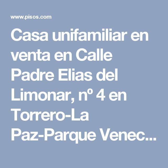 Casa unifamiliar en venta en Calle Padre Elias del Limonar, nº 4 en Torrero-La Paz-Parque Venecia por 143.000 €